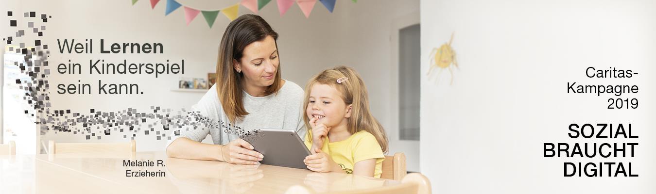 Sozial braucht digital: Lernen