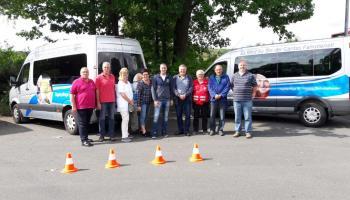Waren beim Fahrsicherheitstraining: Mitarbeiter der Cartias Südniedersachen. / Foto: Cartias