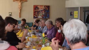 Seniorenfrühstück in Hilkerode. Foto: Broermann / kpg