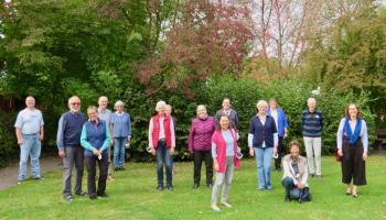 Zum Austausch in Germershausen: Freiwillige in der Caritasarbeit in der Südregion im Bistum Hildesheim. | Foto: Caritas