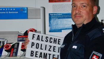 Präventionsexperte Marko Otte von der Polizeiinspektion Göttingen. | Foto: Polizei Göttingen