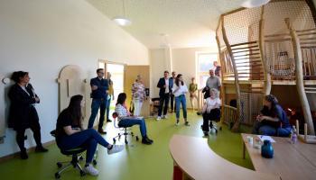 Viel Platz zum Spielen bieten Gruppenräume wie dieser auf dem Inklusiven Campus Duderstadt. | Foto: Christina Hinzmann