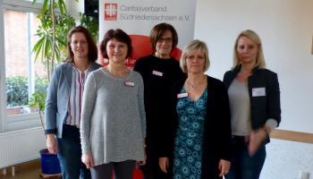 Mitarbeiterinnen der Frühberatungsstelle im Caritasverband Südniedersachsen e.V. | Foto: Caritas