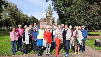 Gruppenbild beim Forum Süd 2021 in Germershausen.   Foto: Weiss / Caritas