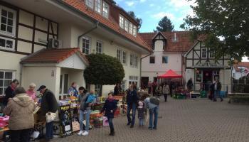 Zuletzt gab es 2019 einen Flohmarkt im Caritas-Centrum Duderstadt (Archivbild). | Foto: Jacobi / Caritas Südniedersachsen