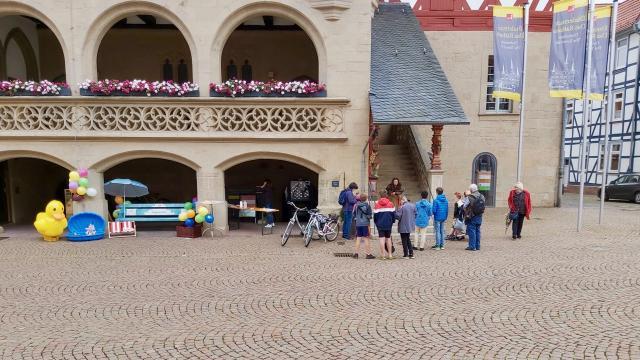 Entensuche in Duderstadt | Foto: Caritas